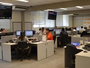 Centro de Operação e Distribuição da Energisa detectou apagão às 15h08 na Paraíba  (Foto: Jorge Machado/G1)