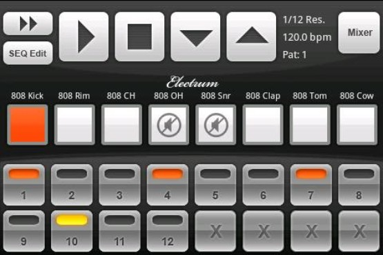 electrum drum machine download techtudo. Black Bedroom Furniture Sets. Home Design Ideas