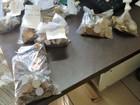 Suspeitos de roubar supermercado são presos com sacos de moedas