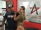 Andressa Urach faz nova tatuagem e posta em rede social