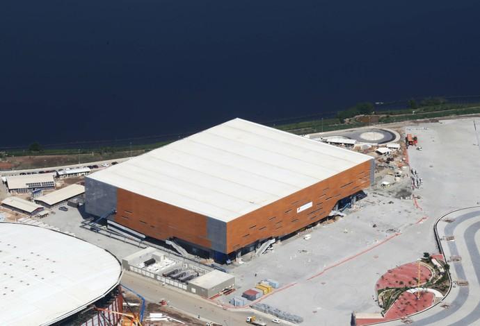 Arena do Futuro está quase pronta (Foto: Ricardo Cassiano / Prefeitura do Rio)