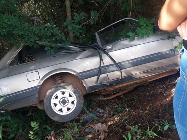Acidente envolvendo quatro veículos mata uma pessoa na GO-010, em Goiás (Foto: Reprodução/Mais Goiás)