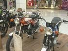 Exposição reúne motos de todas as épocas em shopping de Ribeirão