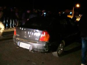 Crime ocorreu na noite de quarta-feira  (Foto: Blog do Léo Santos)