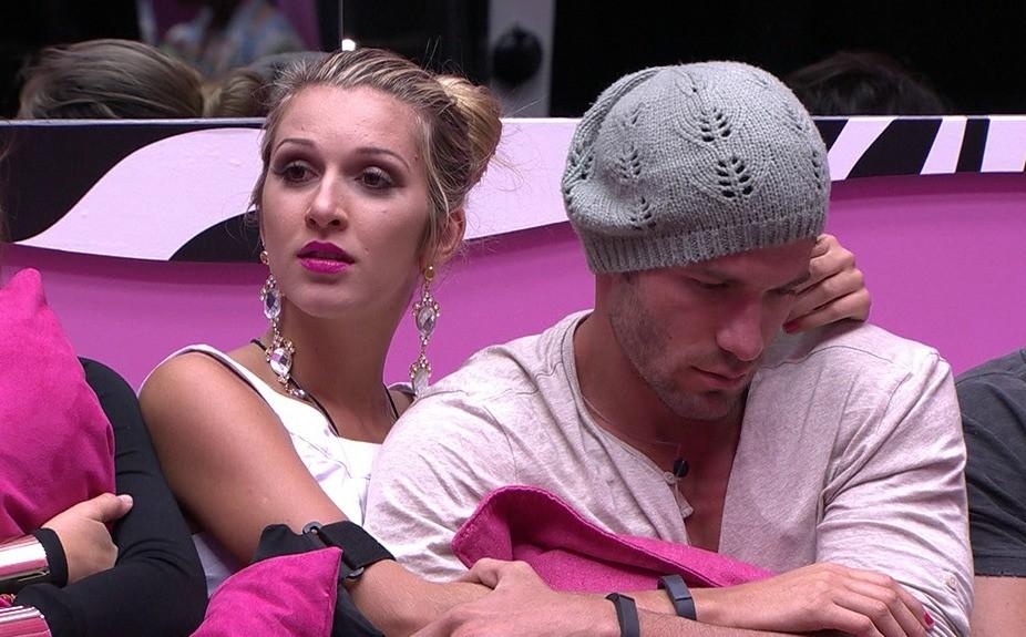 Roni e Tatiele protagonizaram romance no Big Brother Brasil 14 (Foto: Reprodução )
