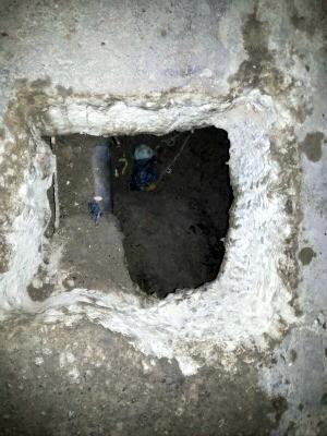 Túnel foi encontrado em cela da CPPL I, em Itaitinga (Foto: Arquivo Pessoal)