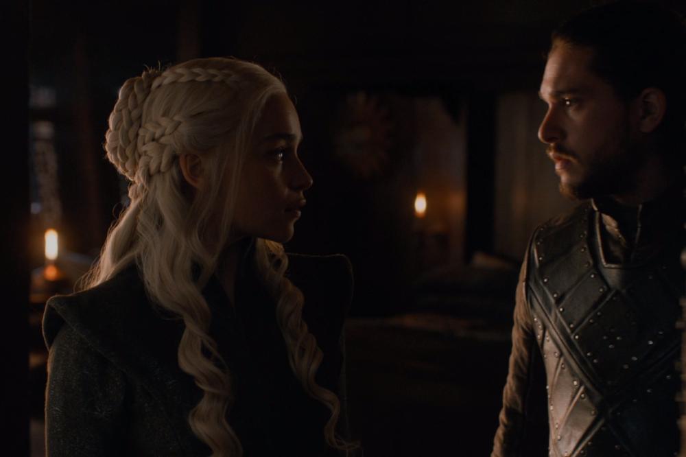 Daenerys e Jon Snow (Foto: Divulgação/ HBO)