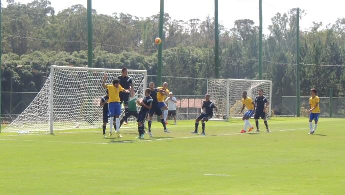 Seleção Brasileira sub-21 x Palmeiras - jogo-treino Mogi das Cruzes (Foto: Petterson Rodrigues)