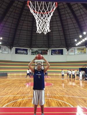 Sidão, reforço do Bauru para o Novo Basquete Brasil NBB (Foto: Caio Casagrande/Bauru Basket)