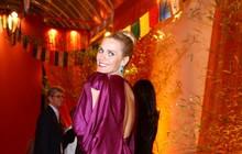 Elenco de 'Joia rara' se reúne na festa da estreia da novela