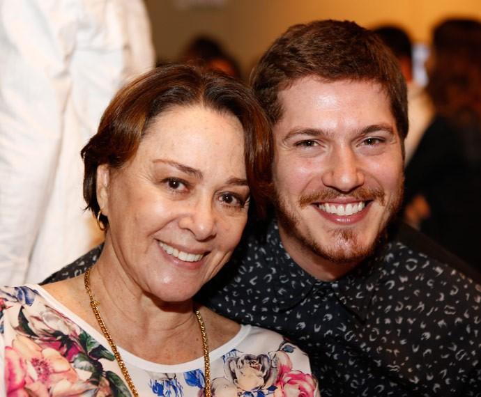 Nívea Maria e Caio Paduan serão mãe e filho novamente! (Foto: Ellen Soares/Gshow)