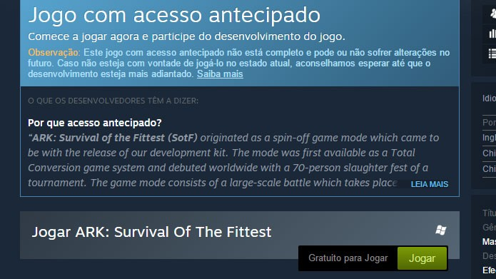 ark survival of the fittest download