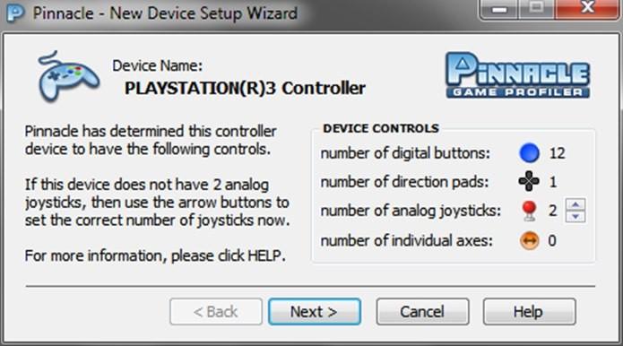 O Pinnacle reconhece a maioria dos controles USB, inclusive alternativos (Foto: Reprodução / Dario Coutinho)