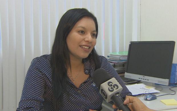 Superintendente do SESI/AP, Aliny Vieira (Foto: Reprodução/TV Amapá)