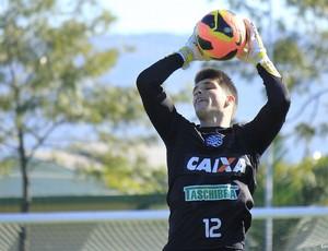 Tiago Volpi, goleiro, figueirense, cft, treino, série b (Foto: Luiz Henrique / Figueirense FC)