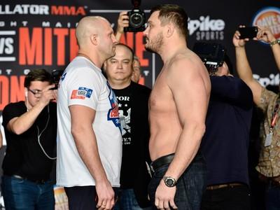 FEdor Emelianenko; Matt Mitrione (Foto: Bellator MMA)