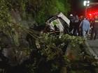 Ônibus acidentado em rodovia estava em alta velocidade, diz testemunha