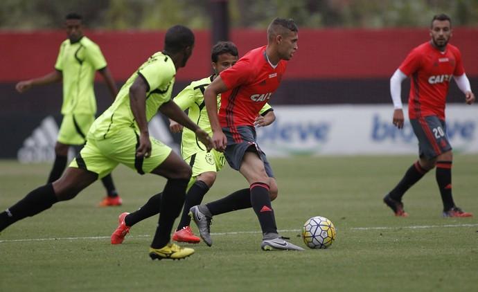 flamengo x americano, jogo-treino (Foto: Gilvan de Souza / Flamengo)