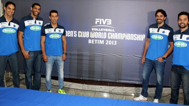 Cruzeiro; vôlei; Mundial de Clubes; jogadores (Foto: Reprodução / Site Oficial do Cruzeiro)