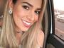 Adriana Sant'Anna mostra novo visual: cabelos mais curtos e lisos