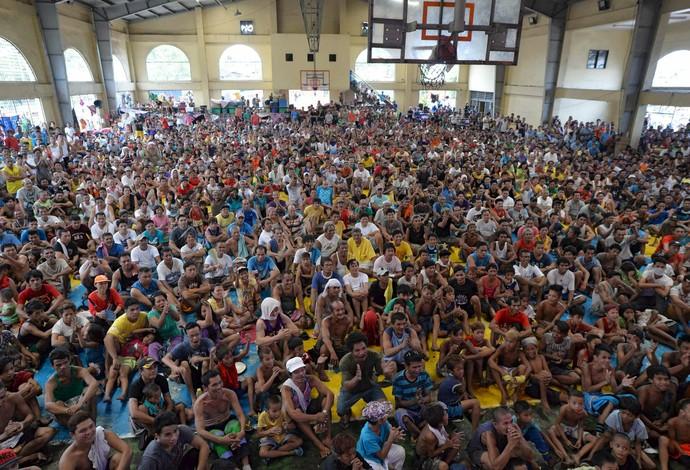 """Pacquia fãs, Filipinas, """"Luta do Século"""" (Foto: Reuters)"""