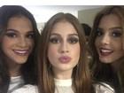 Famosos postam selfies e mostram os bastidores da festa de 50 anos da Globo