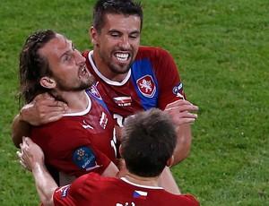 jiracek república tcheca gol polônia eurocopa 2012 (Foto: Agência Reuters)