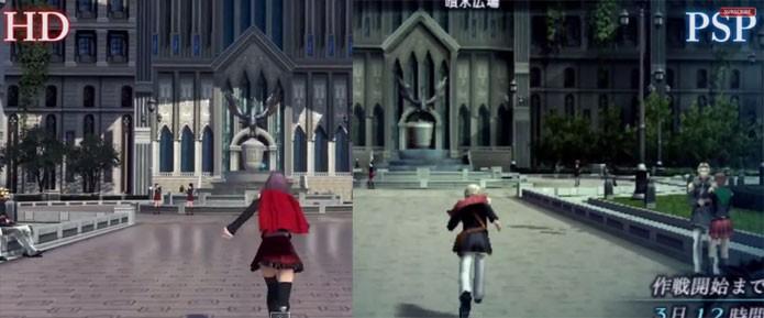 Verões de Final Fantasy Type-0 são comparadas (Foto: Divulgação)