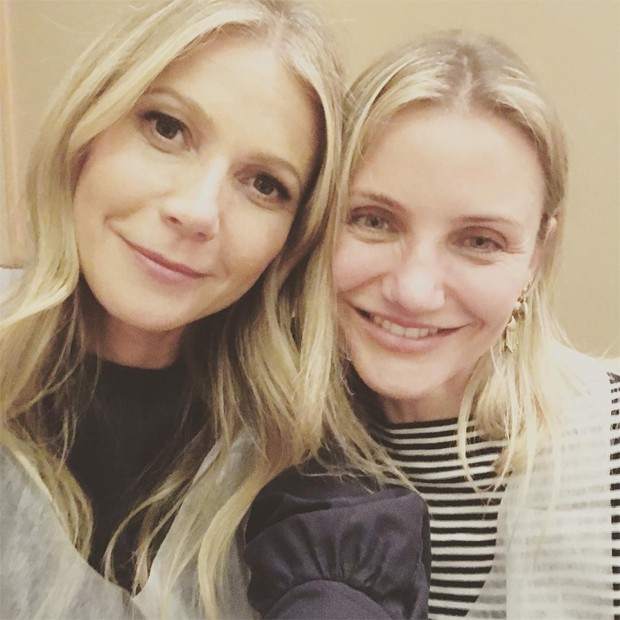 Gwyneth Paltrow e Cameron Diaz (Foto: Reprodução/Instagram)