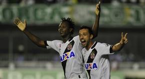 Andrezinho gol Vasco x Goiás (Foto:  ALEX CARVALHO - AGÊNCIA ESTADO)