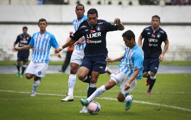 Remo e Paysandu empataram em 1 a 1 no último domingo (Foto: Tarso Sarraf/O Liberal)