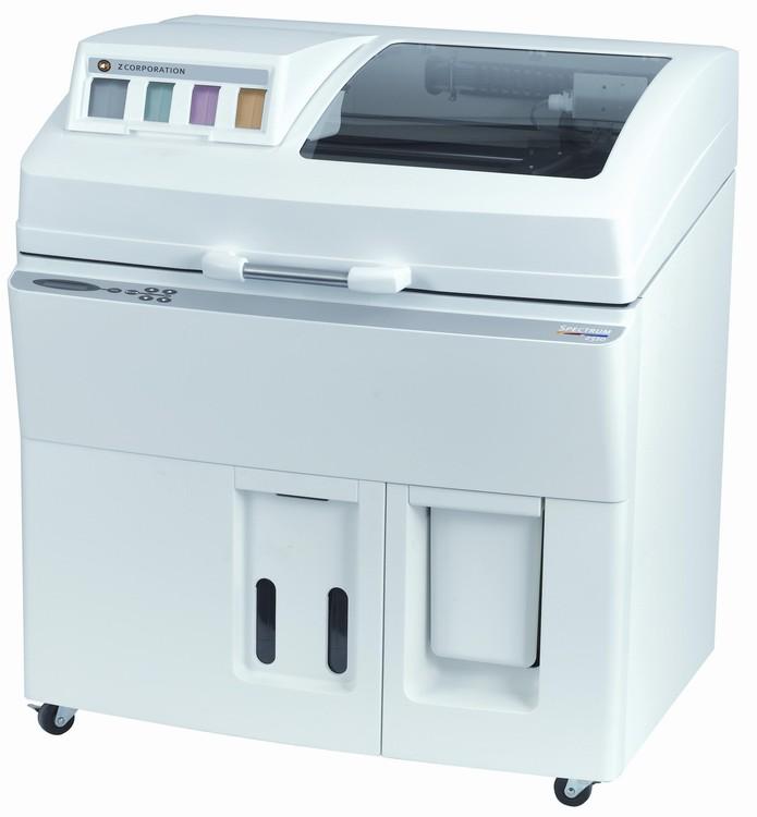 Spectrum Z 510 foi a primeira impressora colorida com alta definição do mercado (Foto: Divulgação/Z Corporation)