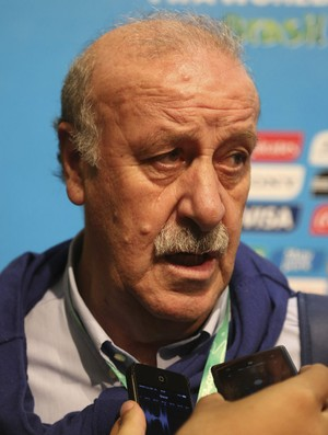 Vicente del Bosque coletiva Copa do Mundo (Foto: AP)