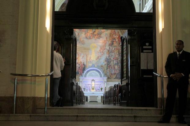 Missa de sétimo dia do diretor Roberto Talma (Foto: Marcello Sá Barretto/Agnews)
