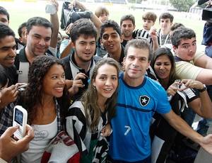 Tulio Maravilha, Botafogo (Foto: Wagner Meier / AGIF)