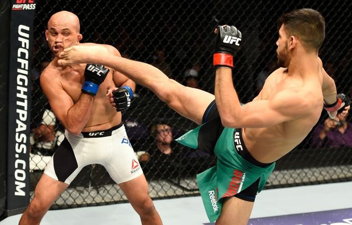 Yair Rodríguez, BJ Penn, UFC, MMA (Foto: Getty Images)