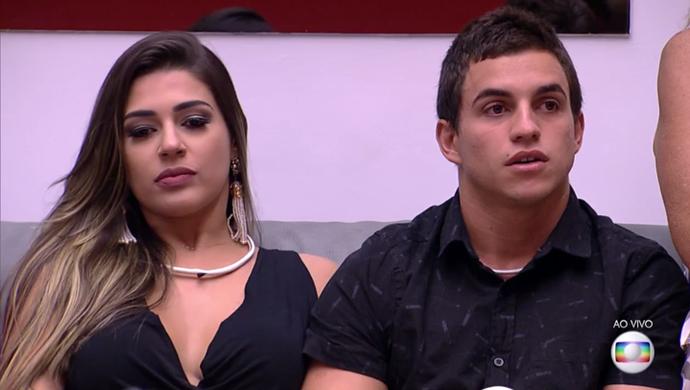 Vivian e Manoel BBB17 (Foto: TV Globo)
