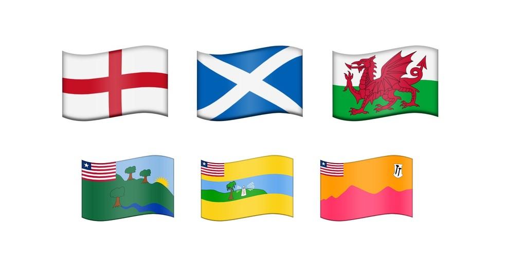 Além de países, atualização vai permitir criar sequências para outras bandeiras (Foto: Reprodução/Emojipedia)