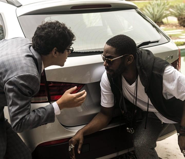 Brau pede ajuda para Henrique se livrar de Gisele (Foto: Renato Rocha Miranda/ TV Globo)
