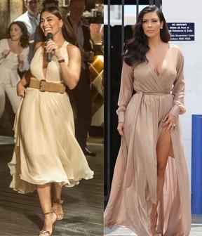 Figurino de personagem de Juliana Paes é inspirado em Kim Kardashian (Foto: Divulgação Globo / X17 Online)