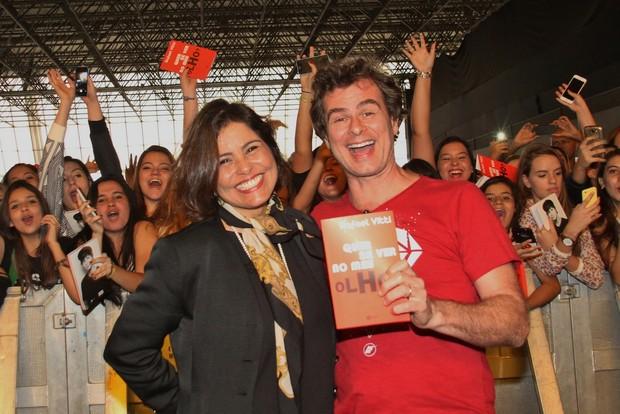 Valéria Alencar e João Vitti (Foto: GRAÇA PAES – PHOTO RIO NEWS)