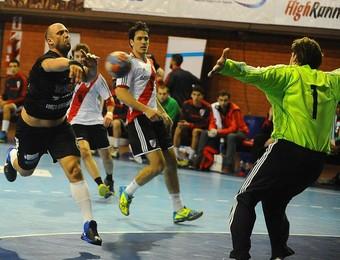 Taubaté Handebol x River Plate Pan-Americano (Foto: Divulgação/Femebal)
