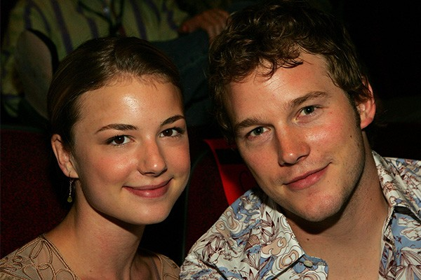 Emily VanCamp e Chris Pratt (Foto: Getty Images)