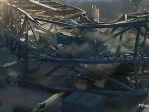 Imagem do novo game Quantum Break, jogo para Xbox One (Foto: Reprodução)
