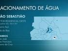 Cortes no DF deixam 76,5 mil sem fornecimento de água nesta sexta