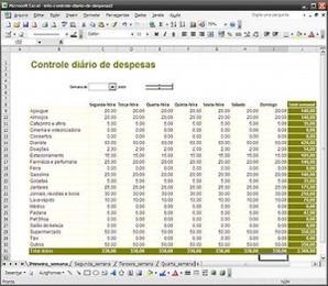 Controle Diário de Despesas