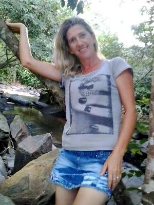 Luzia Steinbach morava em Santa Catarina há um mês, segundo o irmão (Foto: Reprodução/Facebook)