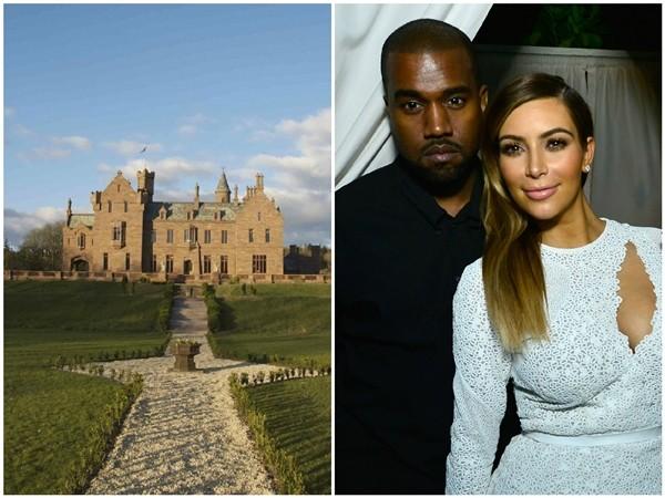 Kim Kardashian e Kanye West  (Foto: Reprodução/Getty Images)