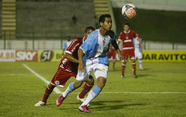 Paysandu e América empataram em 1 a 1 em Paragominas (Foto: Marcelo Seabra / O Liberal)