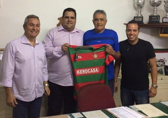 Gaúcho, novo técnico da Portuguesa, da Ilha (Foto: Divulgação/ Portuguesa-RJ)